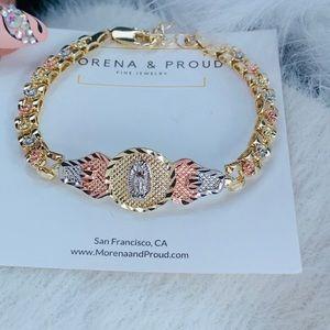 Morena and Proud Virgin Marry bracelets